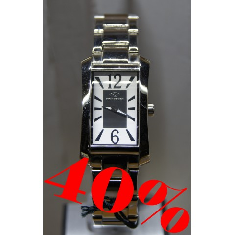 RELOJ TIMEFORCE MUJER ACERO OUTLET