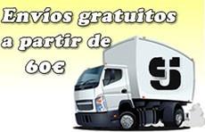 Envíos gratuitos a partir de 60 euros